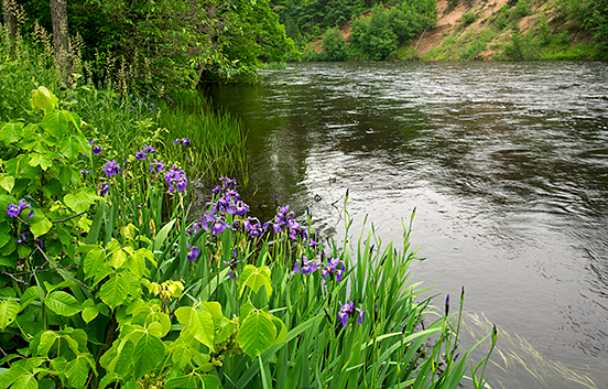 Ontonagon River, Michigan
